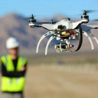 Surveyor with drone