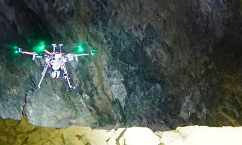 Underground Mine Drone